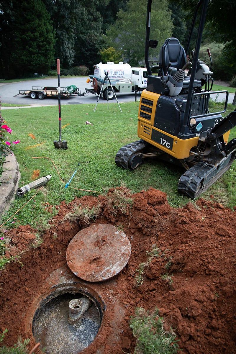 Water Line Repair & Install | The Original Plumber Woodstock & Atlanta GA