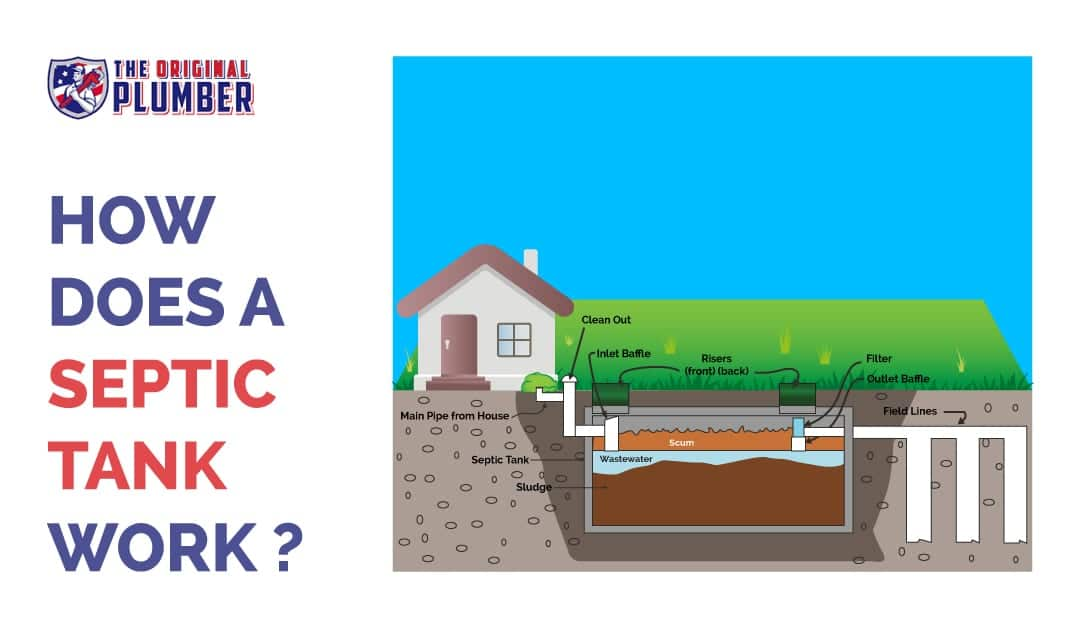 how does a septic tank work process