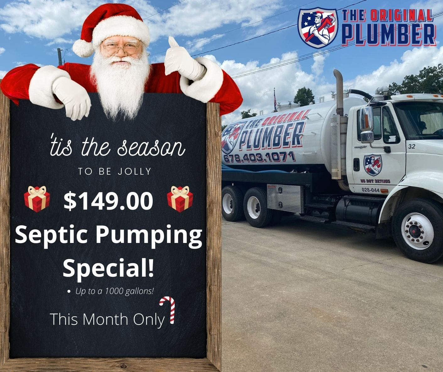 $149 Septic Pumping Special