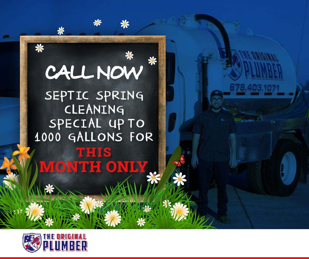 $149 Septic Spring Cleaning Special